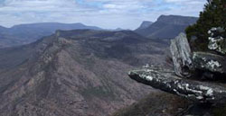 Baroka Lookout, overlooking Halls Gap, in The Grampians
